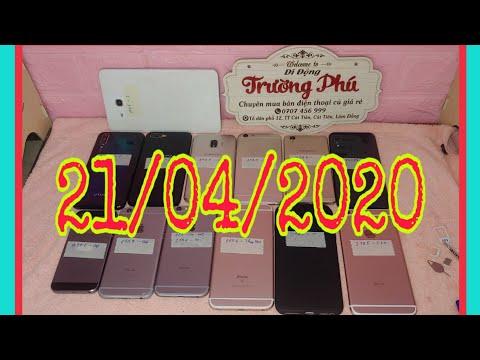 Xem Điện thoại cũ giá rẻ 21/04/2020 ipad iphone samsung oppo vivo từ 950k di động trường phú