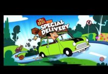 Xem Mr Bean – special Delivery cartoon game for kids