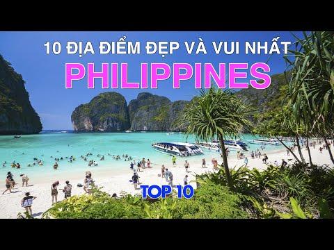 DU LỊCH PHILIPPINES đến 10 Địa Điểm Đẹp và Vui Nhất tại Philippines. Top 10 Places in Philippines.