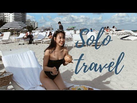 Travel vlog     DU LỊCH MỘT MÌNH đến Miami 🏝  – Phoanh Charmmie