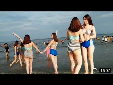 Du lịch cửa lò | Buổi sáng ở bãi biển cửa lò và bãi biển sầm sơn khác nhau như thế nào