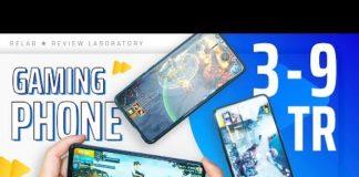 Xem Top điện thoại GAMING tốt nhất từ 3 đến 9 triệu 2020