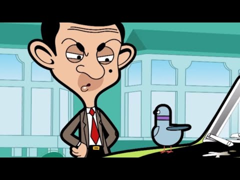 Xem A Pigeon   Funny Episodes   Mr Bean Cartoon World