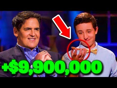 Xem Shark Tank's Mark Cuban SCORES $9.9 MILLION DOLLAR JACKPOT!