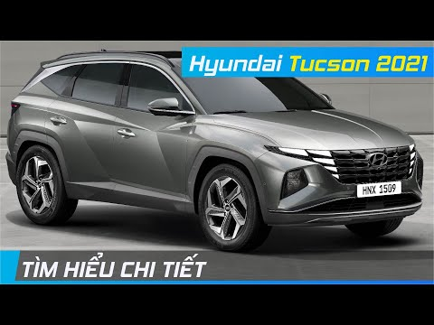 Chi tiết Hyundai Tucson 2021 | Trẻ trung bất ngờ, dùng công nghệ làm vũ khí để cạnh tranh | XE24h