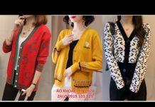 Xem Xu hướng thời trang thu đông 2020 – 2021 – Thời trang thu đông năm 2020 – Áo Khoác len nữ mỏng 2020
