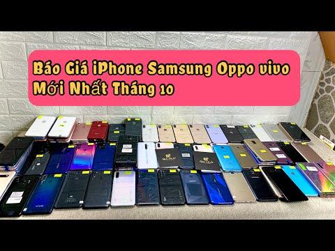 Xem Báo Giá Điện Thoại Cũ Mới Nhất iPhone Samsung Oppo Vivo Realme Redmi Giá Rẻ