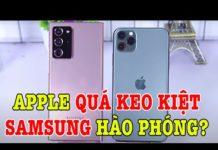 Xem Tư vấn điện thoại Samsung hơn hẳn iPhone ở điểm này !