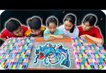 Xem Tony | Cuộc Thi Làm Tranh 7D – Pokemon Hama Beads
