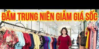 Xem [ Live 18 ] – Đầm Trung Niên Đẹp GIẢM GIÁ SỐC – Thời Trang Trung Niên 2021