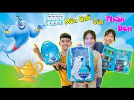Xem Món Quà Bất Ngờ Của Thần Đèn ♥ Min Min TV Minh Khoa