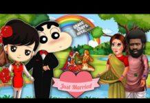 Xem GTA 5:😍 SHINCHAN Want to Marry in GTA 5   JSS GAMER