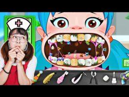Xem Hà Sam Làm Bác Sĩ Khám Răng Cho Các Bạn Nhỏ Khỏi Sâu Răng