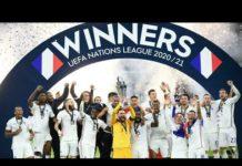 Video L'Equipe de France de football remporte la Ligue des nations en battant l'Espagne (2-1)