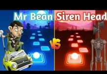 Xem Tiles Hop – Mr. Bean Theme Song VS Siren Head Final Showdown | BrySan Beats